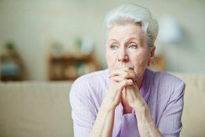 سالمند تنها