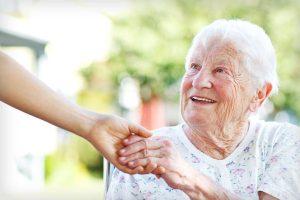 پرستار سالمند بیمار