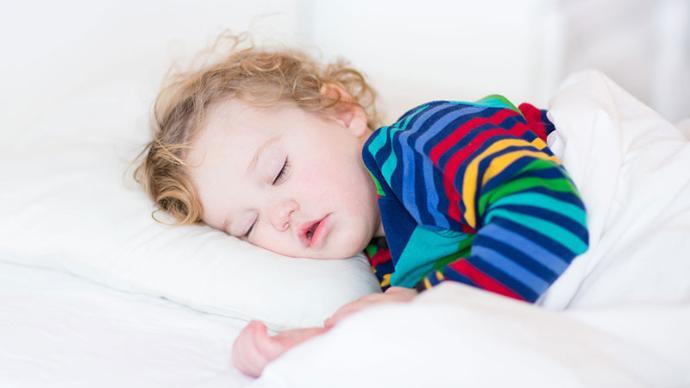 زمان خواب کودک