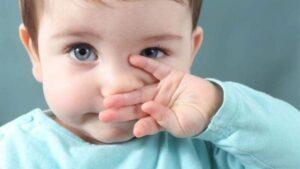روشهای برطرف نمودن گرفتگی بینی نوزاد