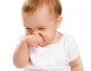 دلایل گرفتگی بینی نوزاد