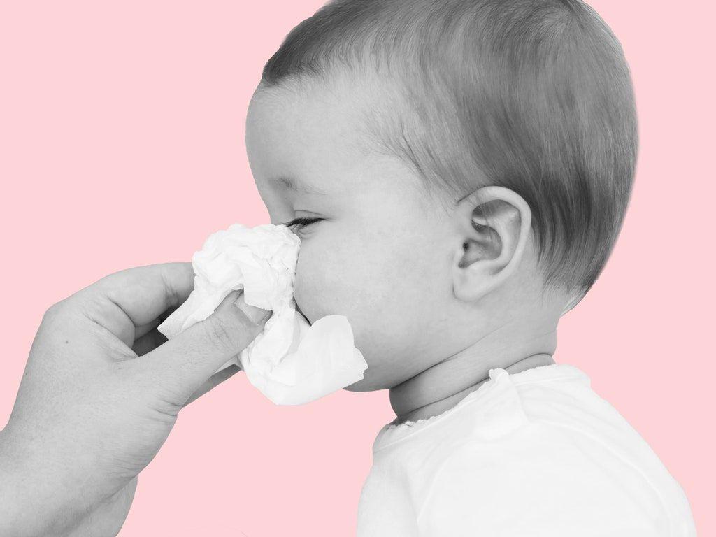 برطرف سازی گرفتگی بینی نوزاد