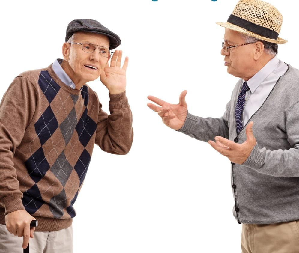 کاهش شنوایی و گفتگو با سالمندان
