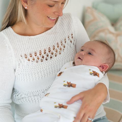 بهترین روش های قنداق کردن نوزاد