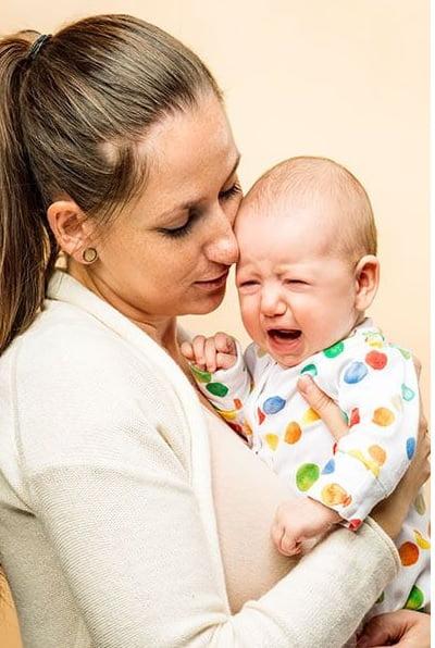 معالجه کولیک در نوزادان