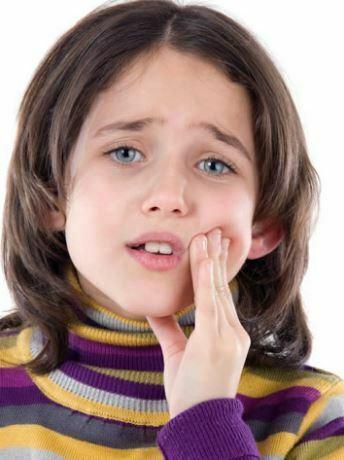 آبسه دندان کودک
