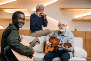 انواع موسیقی درمانی برای سالمندان