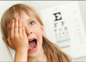 درمان تنبلی چشم کودکان