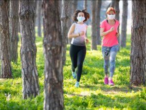 خظرات ماسک در ورزش