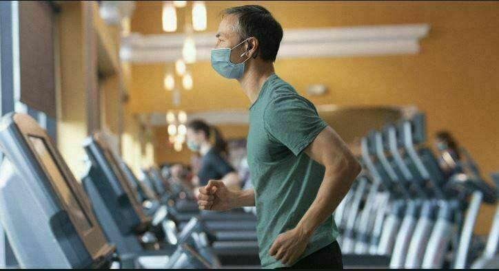 تنفس و ماسک در ورزش