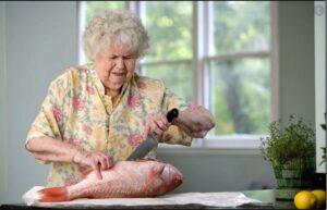تغذیه در سالمندان و ماهی