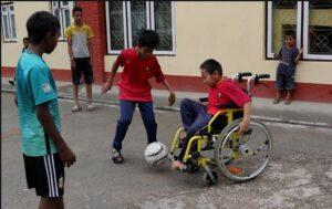 تربیت کودکان معلول