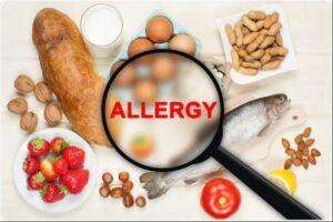 انواع  آلرژی های غذایی