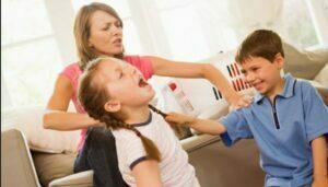رقابت فرزندان و دعوا