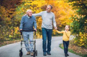 کمک به والدین سالمند در زندگی مستقل
