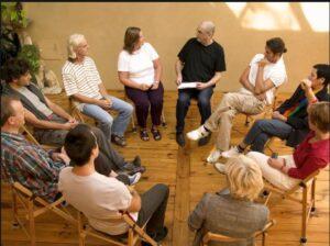 روش کار گروه درمانی