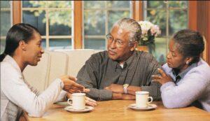 ارتباط موثر با سالمند و گفتگو