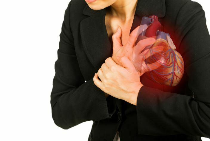 علل حمله قلبی