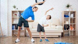 استرس والدین و ورزش