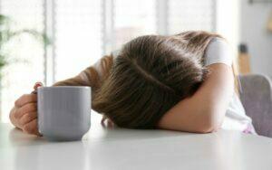 ترک کافئین و خواب