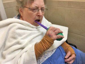 بهداشت دهان بیمار