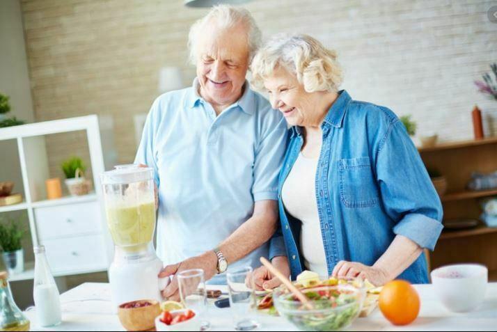 رژیم غذایی سالمند