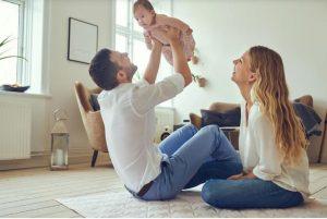 بازی با کودک چهار ماهه