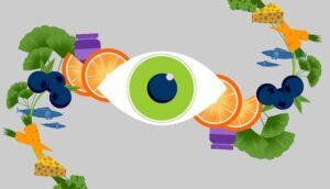ُسلامت چشم و سبزیجات