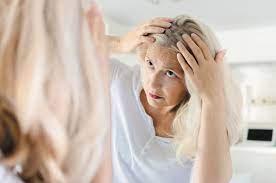 تشخیصریزش مو در زنان