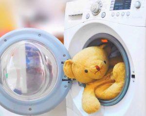 ضد عفونی کردن اسباب بازی در ماشین لباسشویی